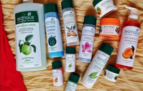 biotique products - skin and hair